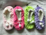 5つのリボンポイント女性の屋内靴