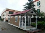 Casa móvil/chalet prefabricados del plegamiento bien diseñado/prefabricados para la atracción turística