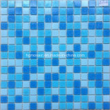 Mosaico Tiles Blue Glass Mosaic per la piscina Building Material