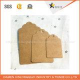 Tag do cair do papel do OEM do preço de fábrica da alta qualidade