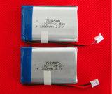 Bateria recarregável do Li-Polímero 1000mAh 3.7V