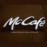 СИД Outdoor Custom Metal Luminous Word для Logo Sign