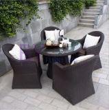 Мебель отдыха балкона сада дома кофеего штанги ротанга напольная