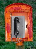 Telefono Emergency del IP, telefono di servizio dell'aeroporto, telefono pubblico