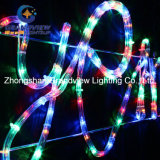 "生気に満ちた290cm Wide LED Multi Coloursの""陽気なChristmas"" Motif Rope Lights"