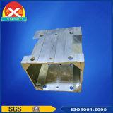 突き出されたアルミ合金6063のプロフィール脱熱器製造業者か工場または製造者