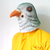 Латекс Full Head Animal Pigeon Bird Fancy Dress вверх по Carnival Prop Party Mask