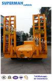 80t 5 трейлер тяжелой тележки тела Axle Extendable Lowbed/Lowdeck/низкий Semi