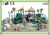 Cour de jeu extérieure de parc à thème de glissière de dinosaur de cour de jeu de groupe de Kaiqi