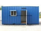 Dormitorio provvisorio di impiegato del magazzino della struttura d'acciaio
