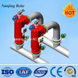Filtro de água Self-Cleaning automático do aço inoxidável para o sistema de condicionamento de ar