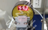 Quarz-Gefäß-Ofen des Vakuum1000c mit 80mm Quarz-Gefäß-und Vakuumflanschen