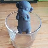 La température de forme de singe a détecté des tamis d'Infuser de thé de silicones
