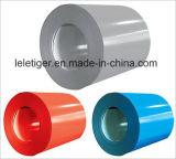 Color de chapa de acero galvanizado recubierto PPGI / Prepainted Acero Galvanizado