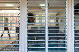 Erfinderisch Sicherheits-Einbrecher-Beweis-Aluminiumrahmenjalousie-Fenster