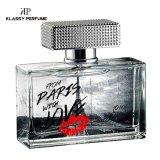 中高い花香油の芳香の100ml香水のガラスビン