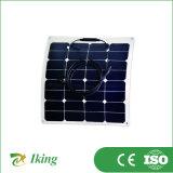 comitato solare Semi-Flessibile di 50W18V Sunpower per energia solare Ssytem