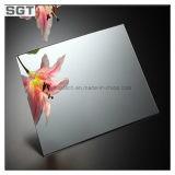 세륨, SGS, Csi를 가진 2mm-10mm 명확한 & 착색된 알루미늄 또는 구리 은의 자유 주조 미러