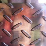 합금 6061-T6 하나 바 알루미늄 보행 격판덮개