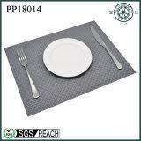 Küche-Kaffee graues PVC Placemat kundenspezifisch anfertigen