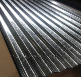 아프리카에 있는 대중적인 Zinc Coating Corrugated Metal Roofing Sheet