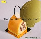 A flor de venda quente do casamento 2016 deu forma a placas do bolo de 8 polegadas com GV (B&C-K033)