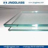 Prix bon marché isolé Tempered plat clair de verre feuilleté de la construction de bâtiments de sûreté 3mm-22mm