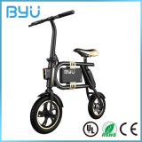 Qualitäts-Lithium-Batterie, die elektrisches Fahrrad-intelligentes China-elektrisches Fahrrad faltet