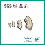Coude soudé par 45D sanitaire d'acier inoxydable (SF1000002)