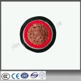 Câble de fil électrique en acier de cuivre de gaine de PVC d'Armores de bande