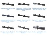 Alcances de todos los tipos de Otical Riflescopes