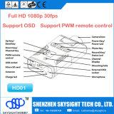 Передатчик передатчика 1080P Sky-HD01 Aio 400MW 32CH Fpv беспроволочный для репроектора