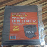 saco de lixo de 40gal 60*90cm no pacote