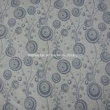 Tela de lino 6021# de la cortina del telar jacquar de la venta caliente 2016