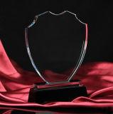 Mejores Ventas de premio en blanco cristalino de cristal trofeo para el regalo del negocio