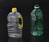 プラスチック狭い口BPA自由で明確な水油壷の注入型