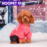 Hoodie cor-de-rosa com Jeans e Pet Clothing para Dog