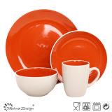 Insieme di ceramica del padellame di alta qualità senza piombo lucida della glassa