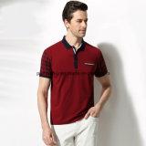 De Magere Slijtage van uitstekende kwaliteit van de Sporten van het Overhemd van het Polo van de Mensen van de Koker van de Controle