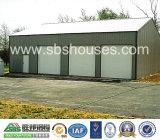 Garagem pré-fabricada de construção da certificação do ISO da casa da construção de aço