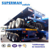 Aanhangwagen Cimc van de Vrachtwagen van het Nut van de Container van Vitenam Flatbed Semi Type