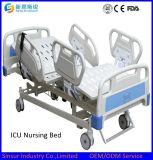중국 고품질 CPR 시스템을%s 가진 전기 5 불안정한 조정가능한 의학 침대