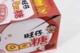 يطبع وجبة خفيفة [إس-تو-بيل-وفّ] يعبّئ صندوق مع شريط