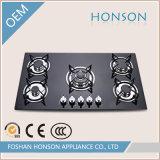 최신 판매 강화 유리 가스 호브 Hg5901