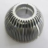 Aangepast Uitgedreven Machinaal bewerkend LEIDENE van het Aluminium Verlichting Heatsink