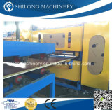 세륨 Approved EPS와 Rock Wool Sandwich Wall Panel Board Cold Roll Forming Machine Production Line