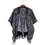2016 Sjaal van de Jacquard van de Manier van de Vrouwen van de Winter de Nieuwe Acryl Geweven (YKY4503)