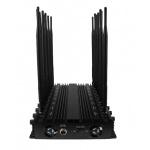 Brouilleur de table de signal de téléphone de VHF 3G de fréquence ultra-haute de Bluetooth GPS Lojack de WiFi de haute énergie, brouilleur de signal de portable du WiFi 3G 4G