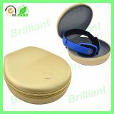 Caja dura del auricular de la cremallera del precio bajo con la maneta (JHC017)