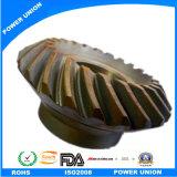 Precisión de acero al carbono Spur Gear con chaveta